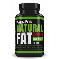 Warrior Natural Fat Burner - přírodní spalovač tuků 100 tbl
