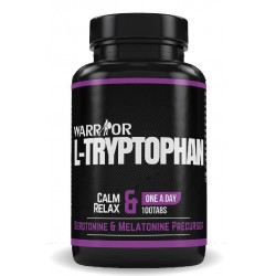 Warrior L-tryptofan tablety 100 tabs