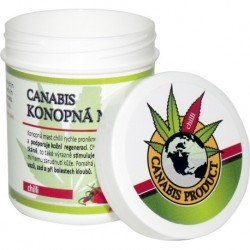 Canabis protukt Konopná mast chilli 25 ml ,60 ml