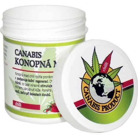 Canabis protukt Konopná mast chilli 25 ml ,60 ml