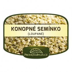Prodejna bylin Konopné semínko loupané 250 g