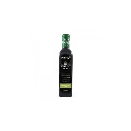 Konopný olej Wolfberry BIO 500 ml