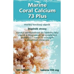 Naturgreen Marine Coral Calcium 73 Plus 100ks, 700mg