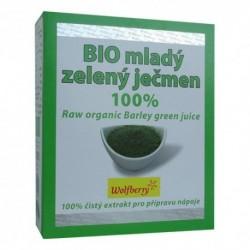 Mladý ječmen šťáva Wolfberry BIO 75 g - doplněk stravy