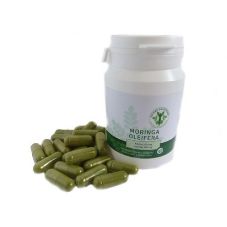 Moringa Oleifera kapsle Zelené Drahokamy