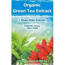 Naturgreen Organic Green Tea 120 veganských tbl.