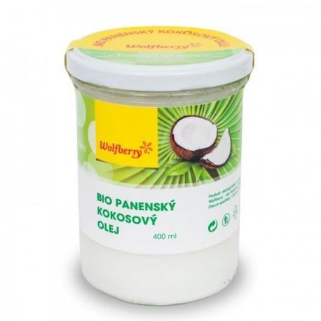 Panenský kokosový olej Wolfberry BIO 400 ml