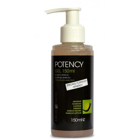 Lovely Lovers POTENCY Gel STRONG FORMULA + ENERGY 150ml